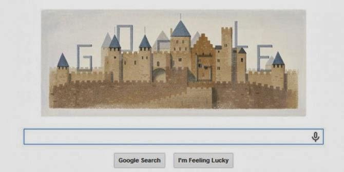 Eugène Viollet-le-Duc Doodle Google