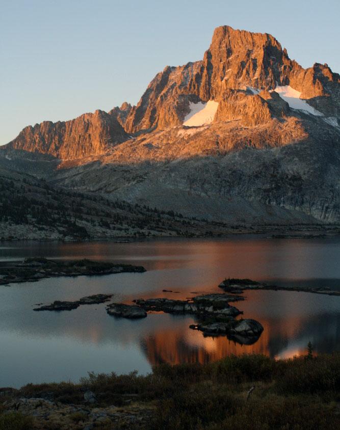 sunrise thousand island lake
