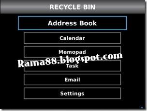 cara mengembalikan data blackberry yang terhapus