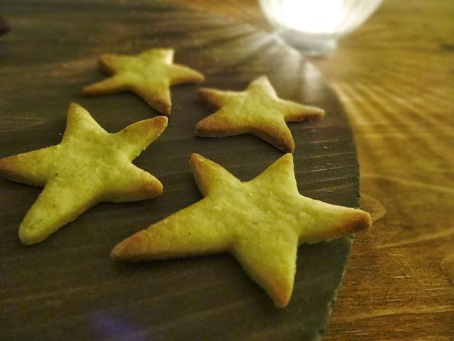 Weihnachtsplätzchen mit Ingwer-Orange