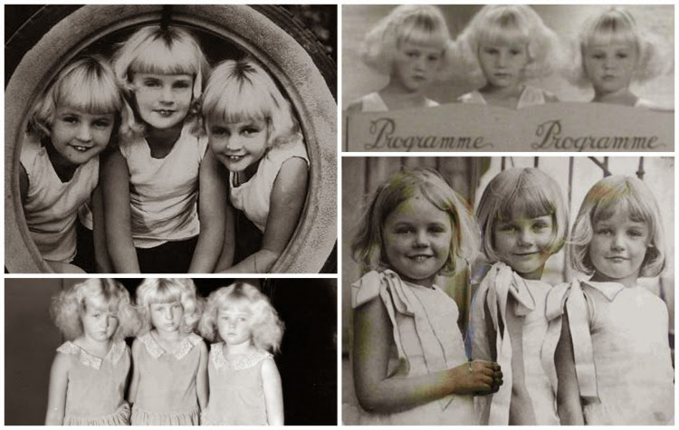 A Vintage Nerd, Old Hollywood Twins, Old Hollywood Blog, Classic Film Blog, Vintage Blog, Old Hollywood History, The Mawby Triplets