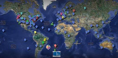 coworking città del Mondo