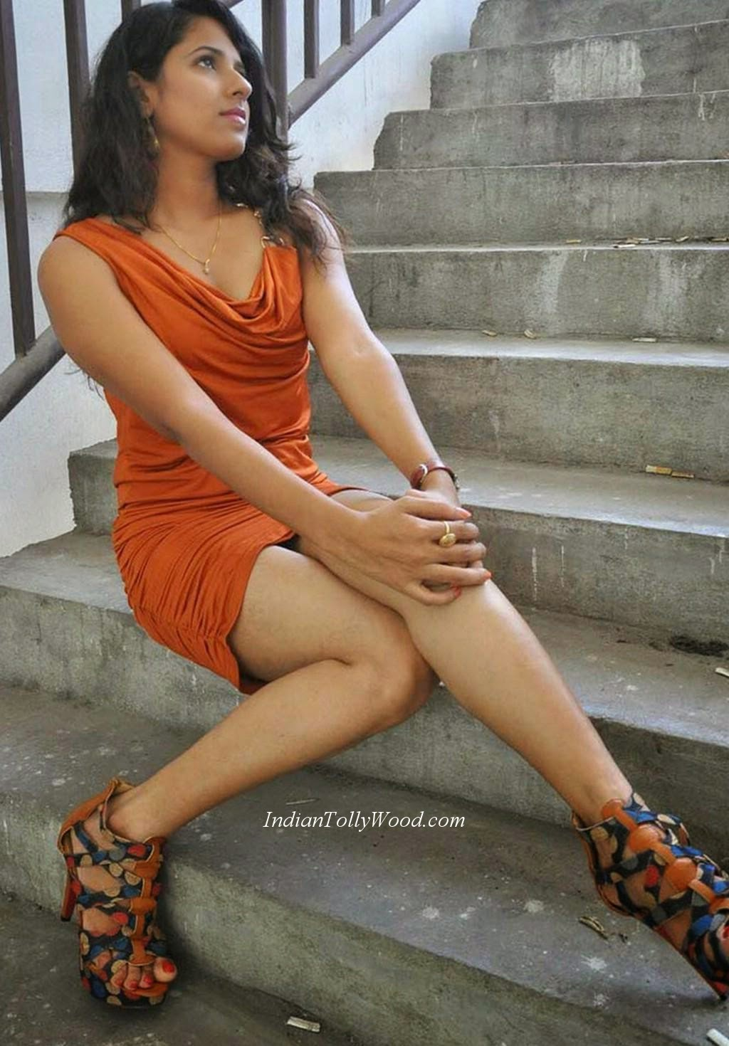 Sravya Reddy orange