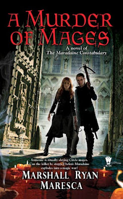 a murder of mages maradaine urban fantasy by Marshall Ryan Maresca