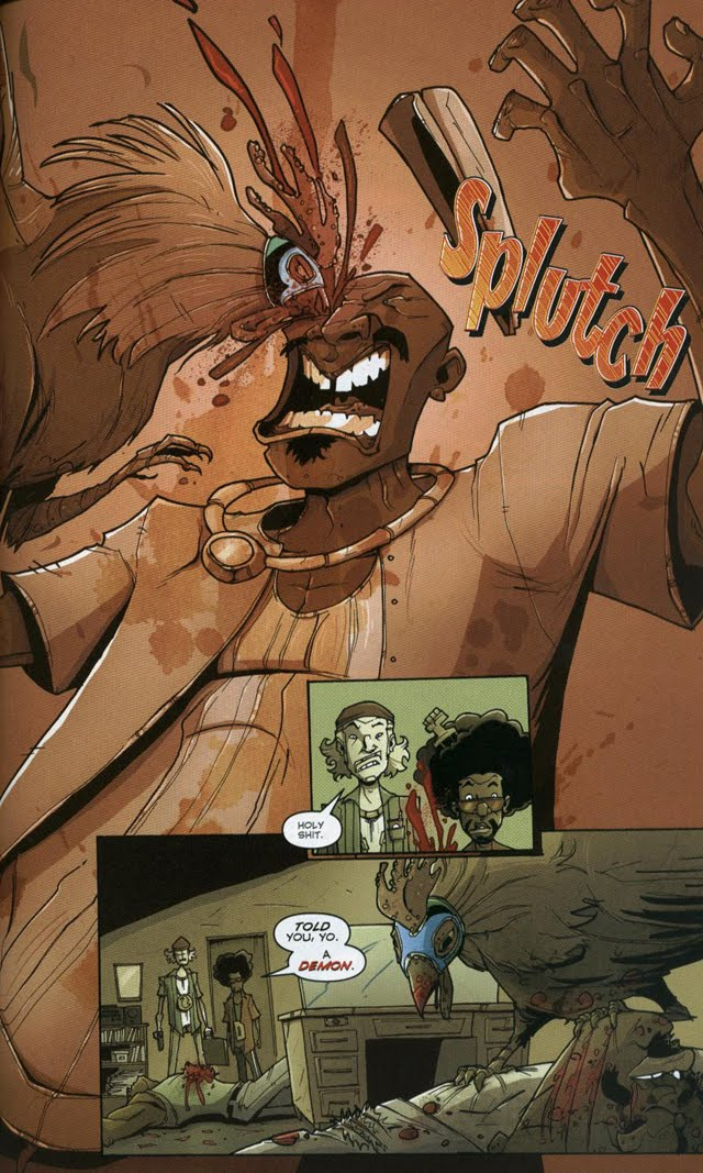 Chew #12 by John Layman and Rob Guillory