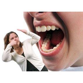 Bau mulut banyak penyebabnya,diantaranya makan-makanan yang berbau ...