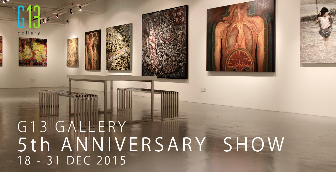 G13 Gallery 5th Anniversary Show