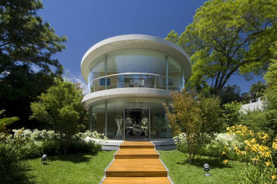Ellipse home/office, Buenos Aires, Argentina