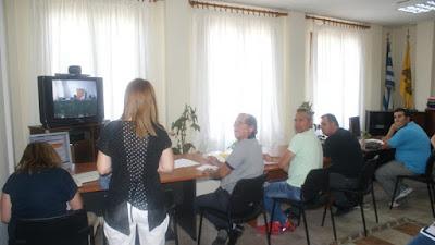 Η Π.Ε. Καστοριάς τηλε -εκπαιδεύει  τους μεταφορείς μαθητών  του νομού