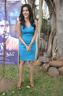 Actress Priya Anand Pictures in Short Dress at Arima Nambi Movie Press Meet 0010.jpg