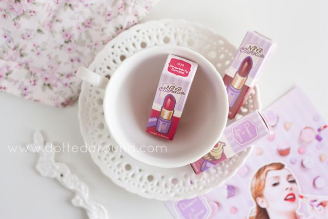 neve cosmetics rossetti dessert a levres lipsticks