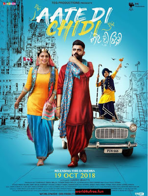 Aate di chidi 2018 Punjabi HDTV 480p 400Mb x264