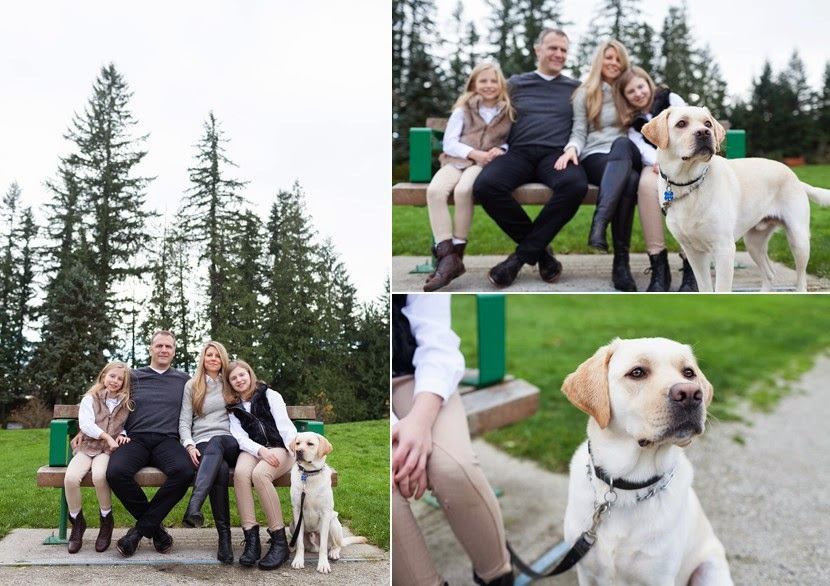 family and dog portraits vancouver bc photo