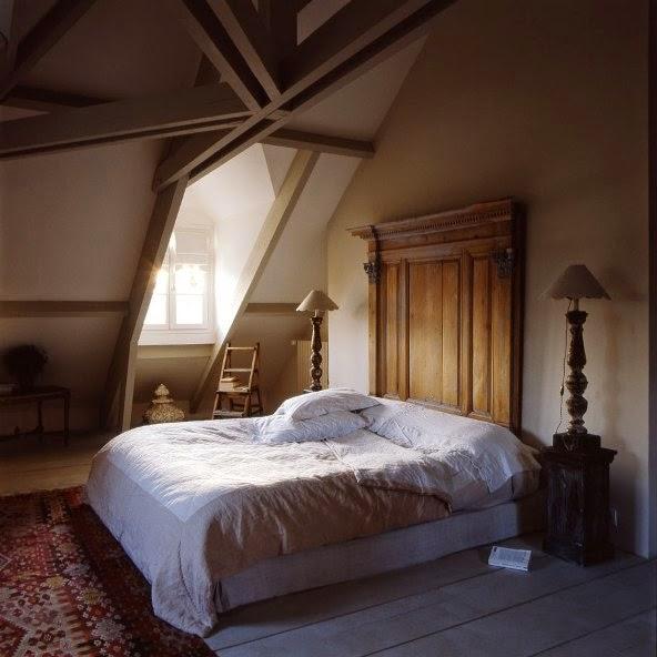 dormitorio estilo provenzal francés