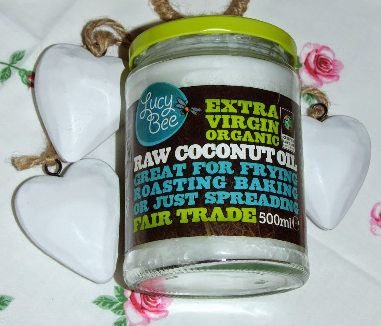 lucy bee coconut oil extra virgin organic raw beauty cleanser