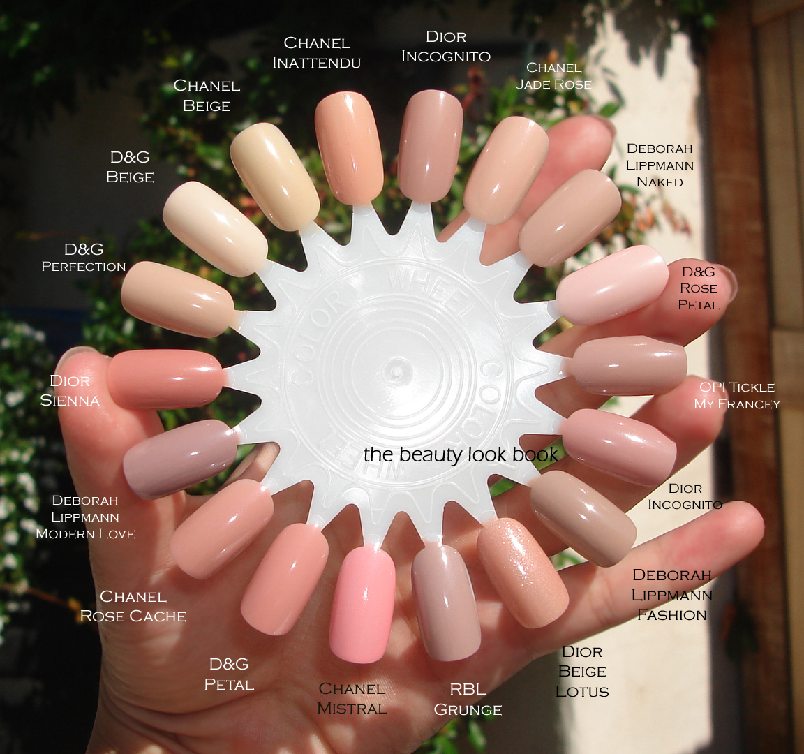 Color Focus: Pink Nudes For Nails