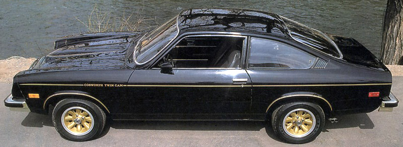 A 1975 Chevrolet Cosworth Vega Sport Coupe