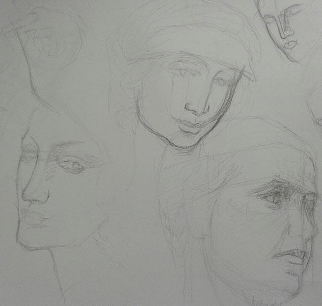 apuntes de caras
