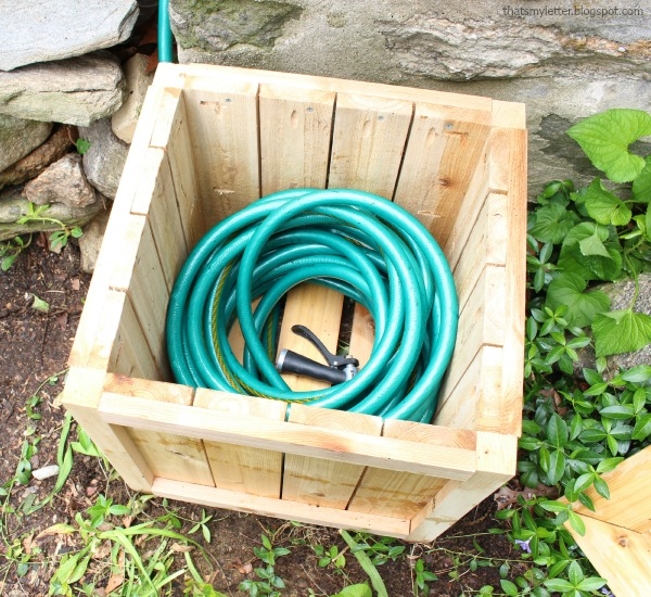 A Planter That Hides The Hose, Genius! Thatu0027s My Letter Has A Great  Tutorial To Help You Get Your Yard Cleaned Up And Those Pesky Hoses Under  Control!