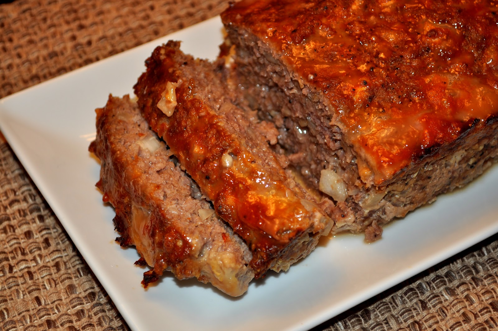 Cookingwithsweetface Glazed Beef And Pork Meatloaf