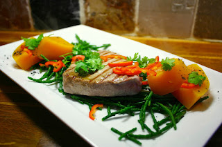 Griddled Tuna & Samphire