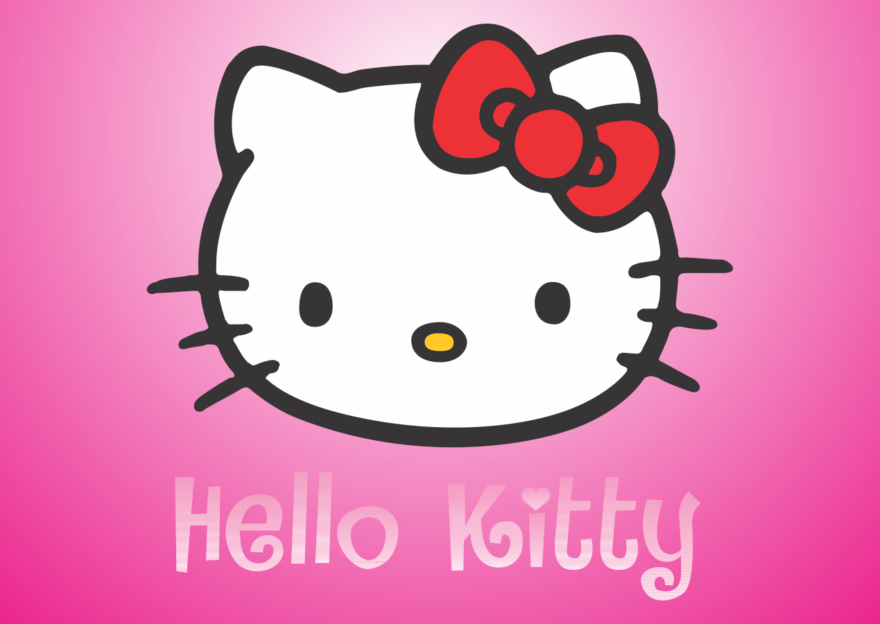 Hello Kitty shoes Logo Vector download free