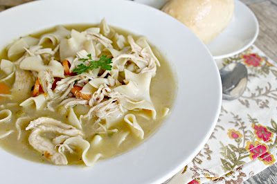 30 Minute Chicken Noodle Soup Recipe
