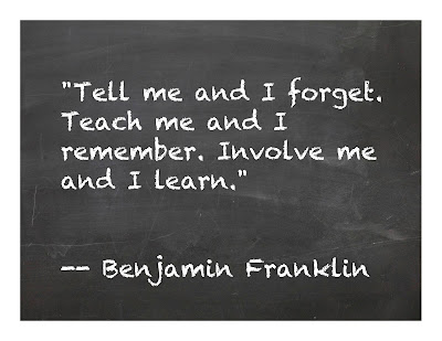 ben franklin teacher quote