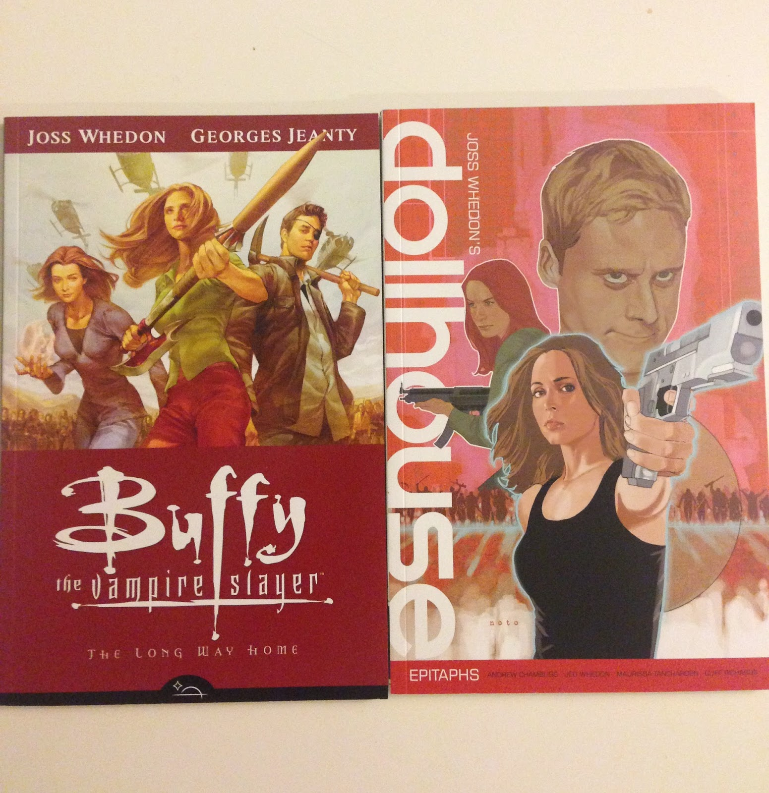 buff the vampire slayer dollhose joss whedon comic book