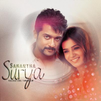 Surya With Samantha Beautifull Latest Still