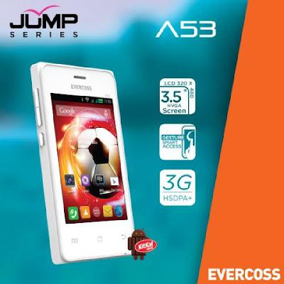 Evercoss A53 Jump Series