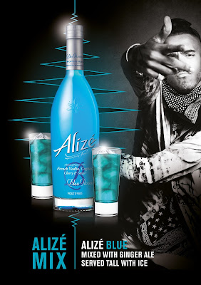 Rycardo Gomez Blue Ginger (Blue and Ginger Ale)