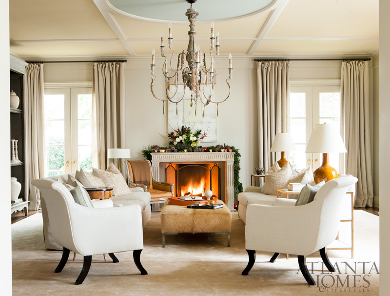 The glam pad christmas with suzanne kasler for Suzanne kasler inspired interiors