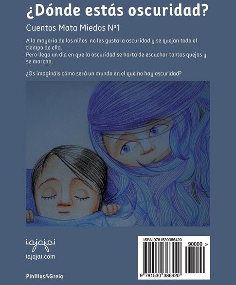 Cuento / Libro contra el miedo a la oscuridad en niños