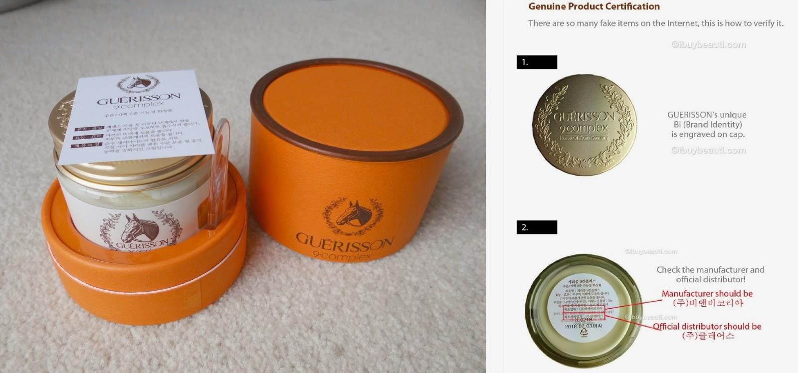Claire's Guerisson 9 Complex Cream, Horse Oil cream, Cloud 9 skincare