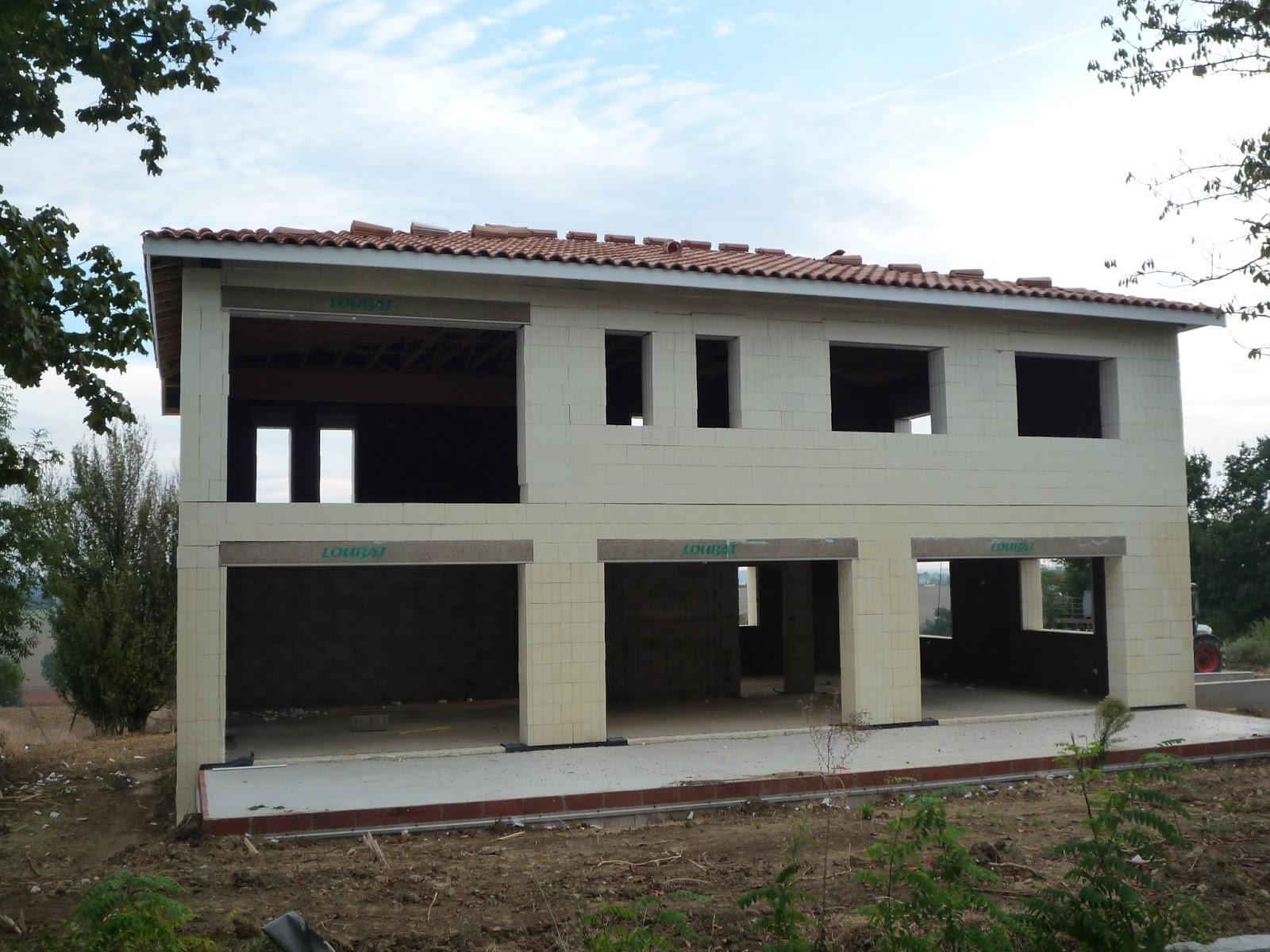 Notre maison en haute garonne la toiture - Baie vitree pour toiture ...