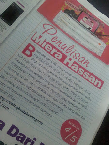 .. Miera Hassan in REMAJA Magazine (2011)..