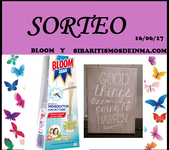 SORTEO LOTE BLOOM ANTIMOSQUITOS