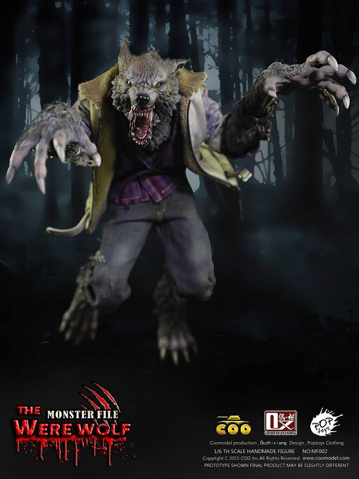 COOMODEL X OUZHIXIANG - Monster File Series - The Were Wolf E13