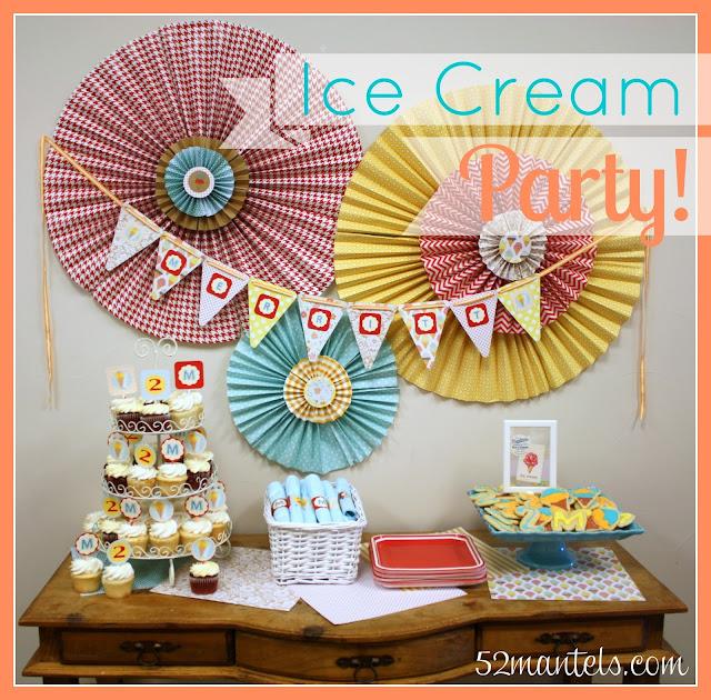 ice cream supplies: