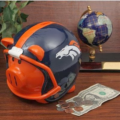 Sports team piggy banks