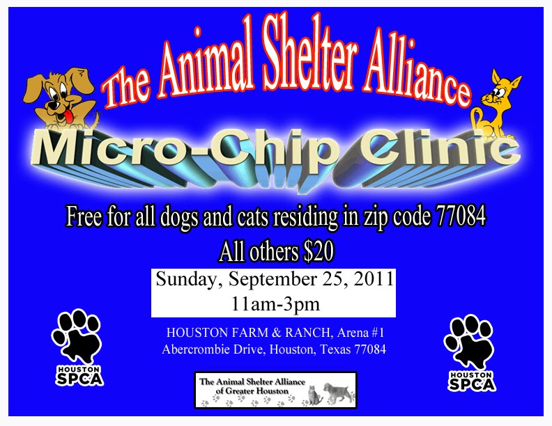 If you have pets and live in zip code 77084, then you may want to free up ...