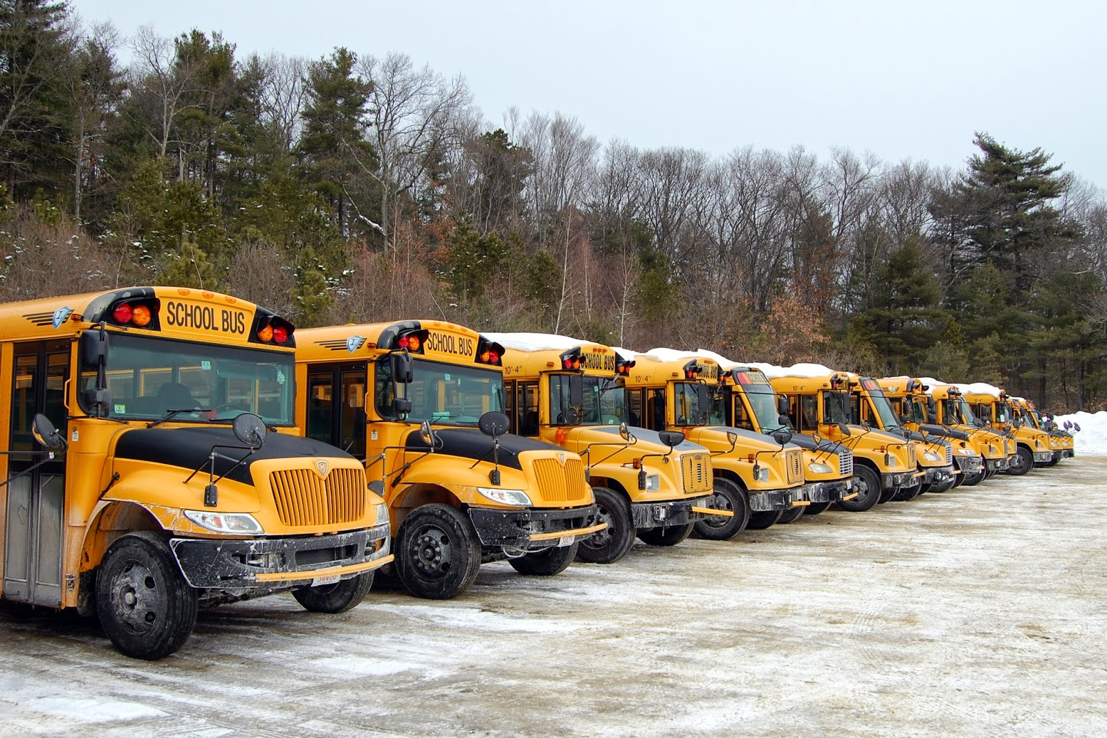 school buses will be rolling this morning with schools re-opening