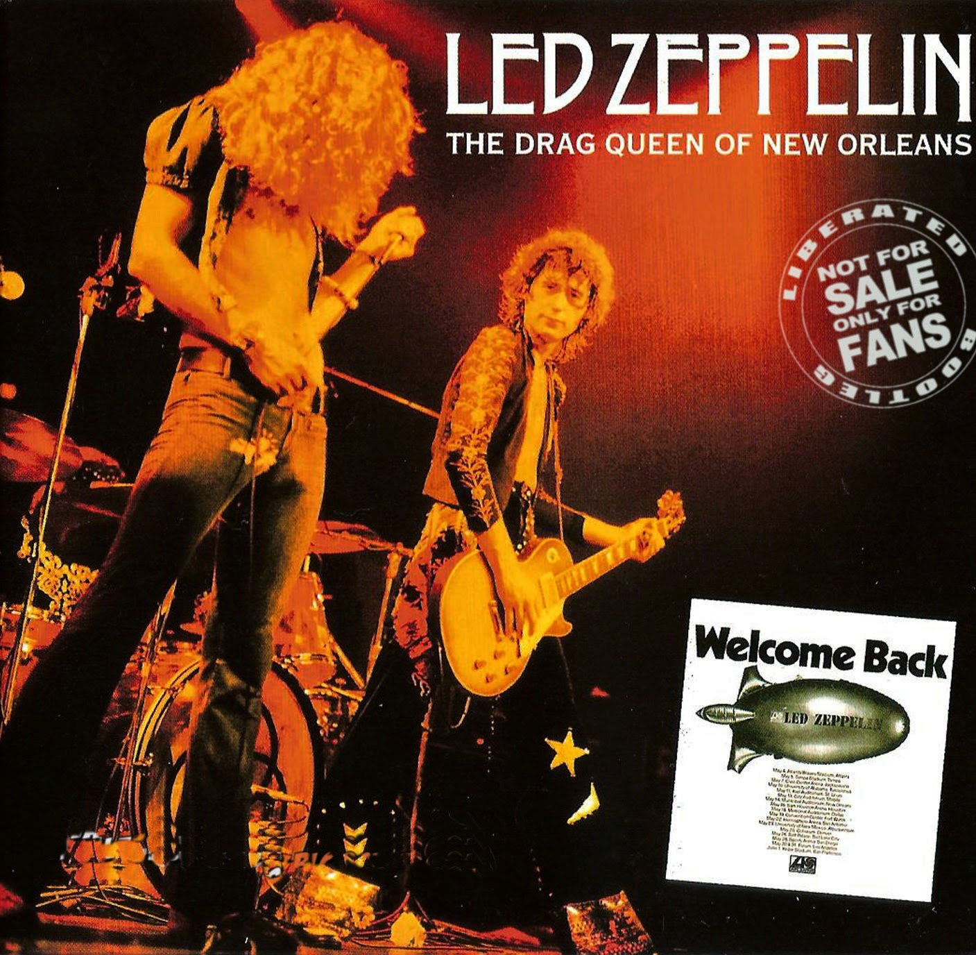 1973 - Led Zeppelin - The Drag Queen Of New Orleans - Bootleg