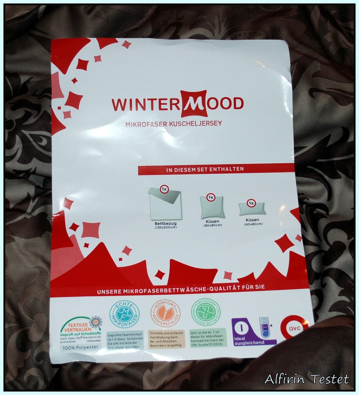 alfirin testet qvc wintermood bettw sche. Black Bedroom Furniture Sets. Home Design Ideas