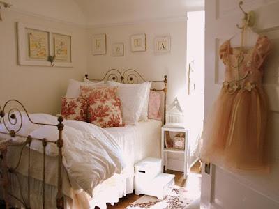 dormitorio chica romántica