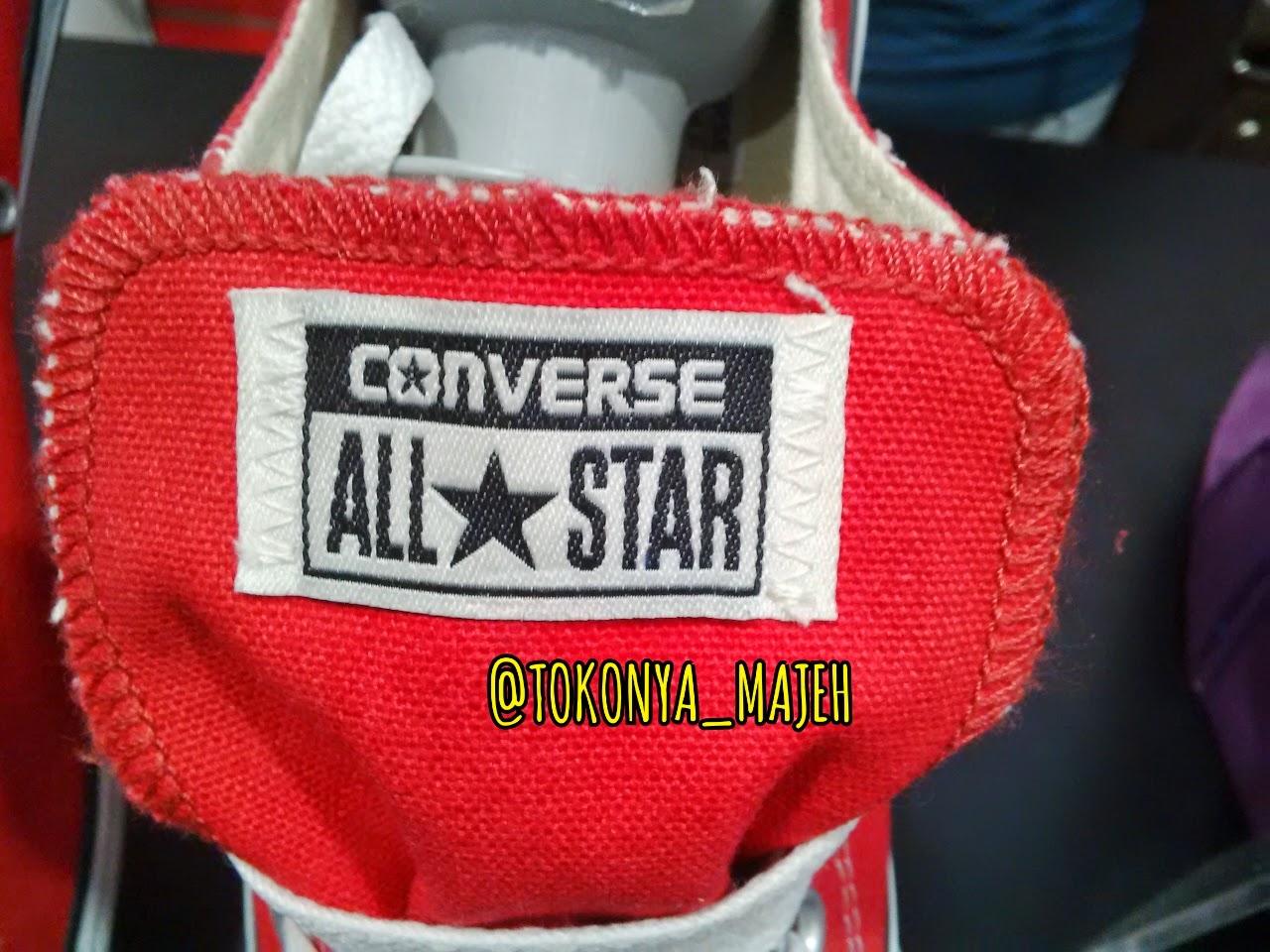 PUNYA MAJEH: Ciri-ciri Sepatu Converse Asli Original Made