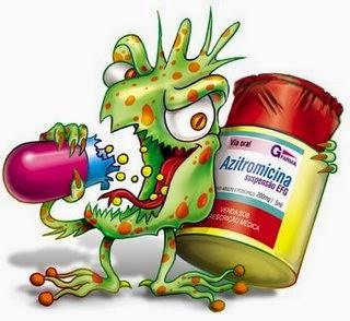 Como a resistência aos antibióticos entre as bactérias se espalha