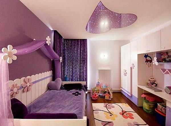 Desain kamar tidur anak perempuan 7