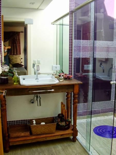 Adesivo De Chão Que Imita Madeira ~ Art de Renovar Banheiros Rusticos